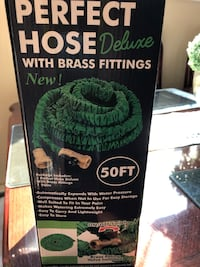 perfect 50 feet hose with brass settings