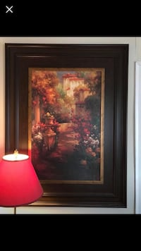 Huge framed painting from Kirkland's $45 if picked up today Mount Pleasant, 38474