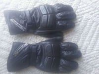 pair of black leather gloves Chilliwack, V2R 4G9