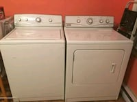 white washer and dryer set Montreal, H4G 2X1