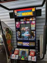 Mocap boxing arcade machine Los Angeles, 90039