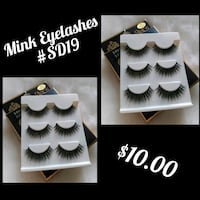 Mink Eyelashes - 2Packs #SD19 Palmdale, 93550