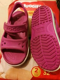 Girl Toddler size 7 crocs Whitchurch-Stouffville, L4A 7V9
