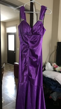 Grad purple mermaid dress  Calgary, T3P 0E6