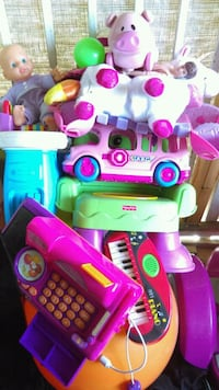 pink and purple plastic kitchen playset Compton, 90221