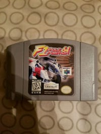 F1 pole position for Nintendo 64