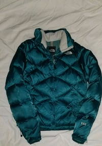 THE NORTH FACE Womens 550 Down Insulated Puffer Ja Chesapeake, 23322