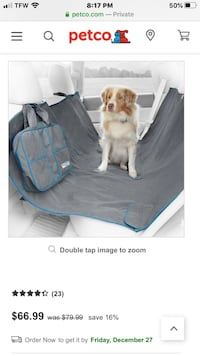 Pet Seat covers for your vehicle!