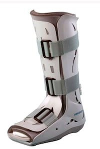 Aircast boot with crutches  Oakville, L6H 6K7