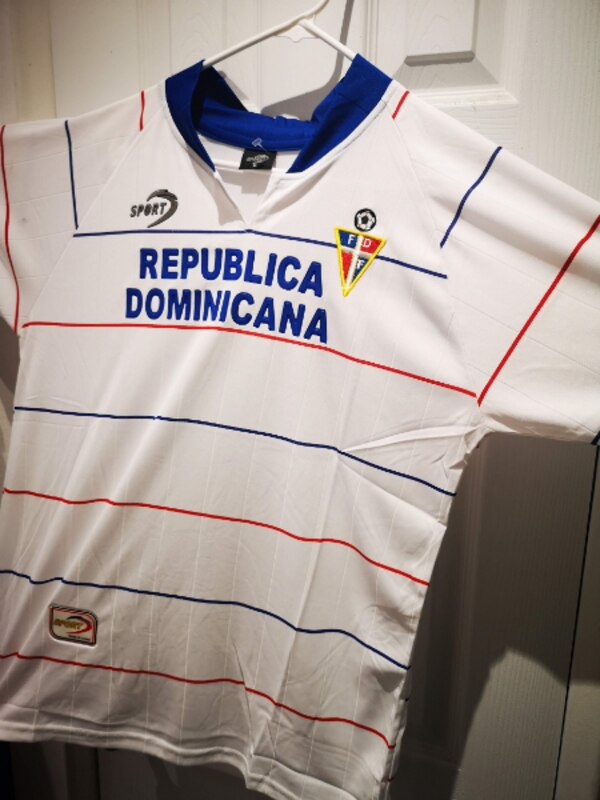 various colors b9fe5 7655b DOMINICAN REPUBLIC SOCCER JERSEY