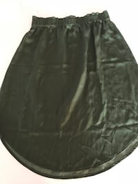 Loft army green high waisted skirt with rounded edge Mississauga, L5A 2Y4