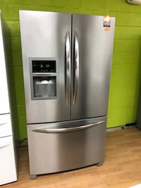 Frigidaire stainless steel French door refrigerator Woodbridge, 22191