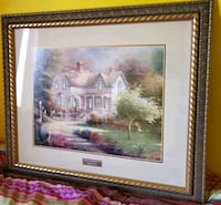 """Thomas Kinkade 26"""" by 30"""" picture Mount Airy, 21771"""