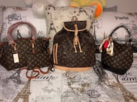 Set of 3 lv collection bags for $215 or $85 each one  Tampa, 33607