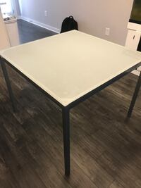 Gray Blue Dining Table