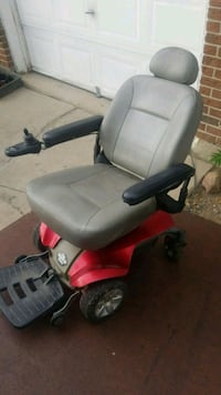 black and red motorized wheelchair Thornton, 80233