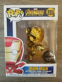 Chrome Iron Man Funko pop Toronto, M5A 3C4