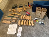 Large Lot Wooden Train Set Omaha, 68144
