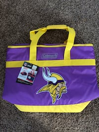 Vikings embroidered NFL logo cooler. Brand new! Salinas, 93908