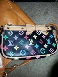 black and multicolored Louis Vuitton Monogram leather crossbody bag Phoenix, 85027