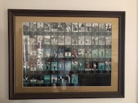 Framed Champions of Golf The Masters Collection 1934-1996 C of A