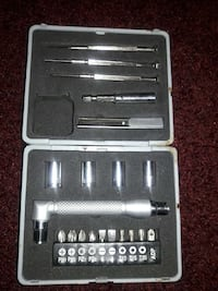 silver hand tool in case Cranston, 02920