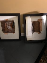 """Set of 3 framed paintings 36x24 each one comes with the information and authenticity on the back. They are also numbered 1,2 and 3. They are in excellent condition with a 3"""" deep frame  Helena, 35080"""