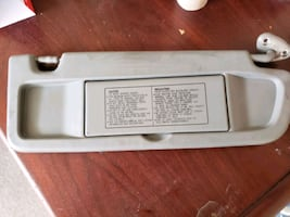 2006 to 2011 Civic sun visor passenger side