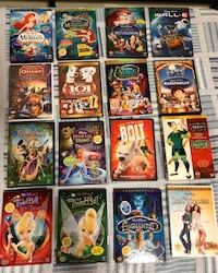 Used Disney DVDs (selling as lot)