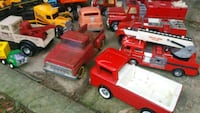 red and white plastic truck toy Alexandria, 22309