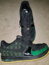 Michael jordan black & green Jordan shoes Estancia, 87016