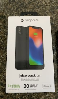 iPhone X Mophie Charging Case