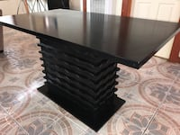 Black dining table 4ft x 2.5' modern contemporary desk- DELIVERY AVAILABLE TODAY! Los Angeles, 90007