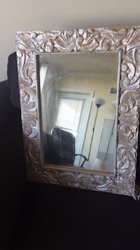 rectangular brown wooden framed mirror Arlington, 22201