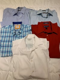 Various brand name men's dress shirts Pickering, L1V 2S2