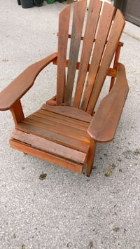 Wood Muskoka chairs Toronto, M4K 3T8