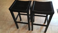 two black wooden bar stools Frederick, 21704