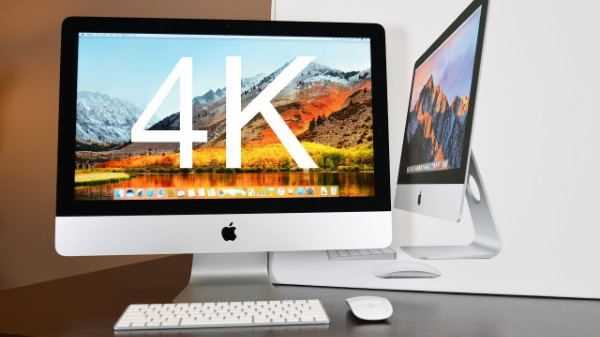 21.5-inch iMac 3.4GHz quad-core Intel Core i5 with Retina 4K display