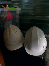 3 hard hats 2 new $25 fore all 3