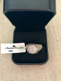 Diamond/ gold/silver andrea candela ring new never wore in box Wilmington, 19806