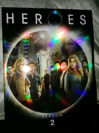 Season 2 of Heroes..  5 disc set.  Excellent condi