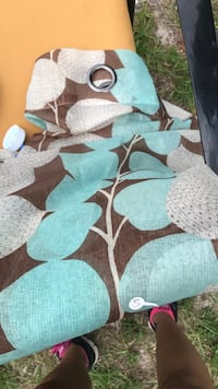 white, green, and brown floral area rug East Palatka, 32187