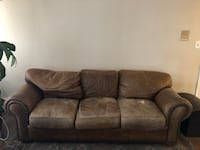 Brown Leather Sofa Arvada, 80004