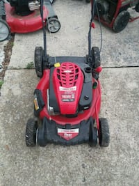 red and black Troy-Bilt push mower Hagerstown, 21740