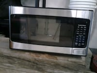 stainless steel and black microwave oven Prince Albert