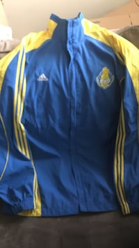 blue and yellow Adidas track jacket 3xL Cleveland Heights, 44118