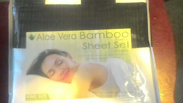 Used Aloe Vera Bamboo Essence Sheet Set 1800 Series For Sale In