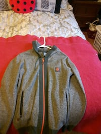LNG green sweater Hoodie size small