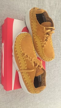 Yellow Nike air footscape woven Nm Oslo, 0274