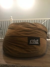 Love sac- chocolate brown microfiber- 5 ft diameter  Las Vegas, 89135